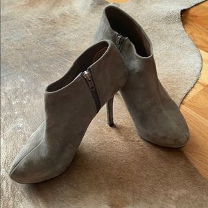 Grey Zara Booties